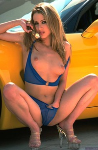 Danni Yeager Gets Horny Of Sport Cars