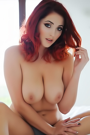 Chubby and slutty Lucy Vixen