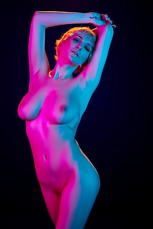 Fashion Nudity Skye Blue