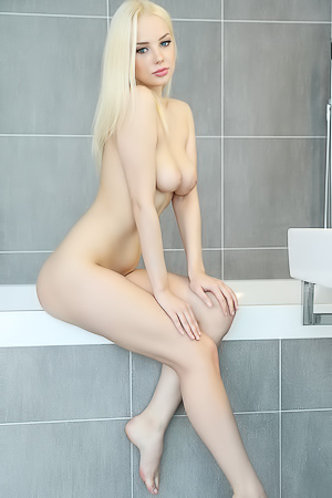 Hot Blonde Angel: Sex and Sambuca