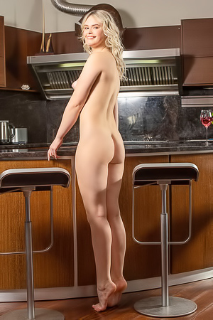 Ruth - Making lunch is always more fun when you do it naked