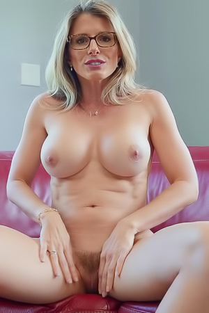 Cory Chase Opening Herself Up With A Big Dildo